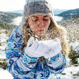 フワフワの粉雪に出くわすことも!
