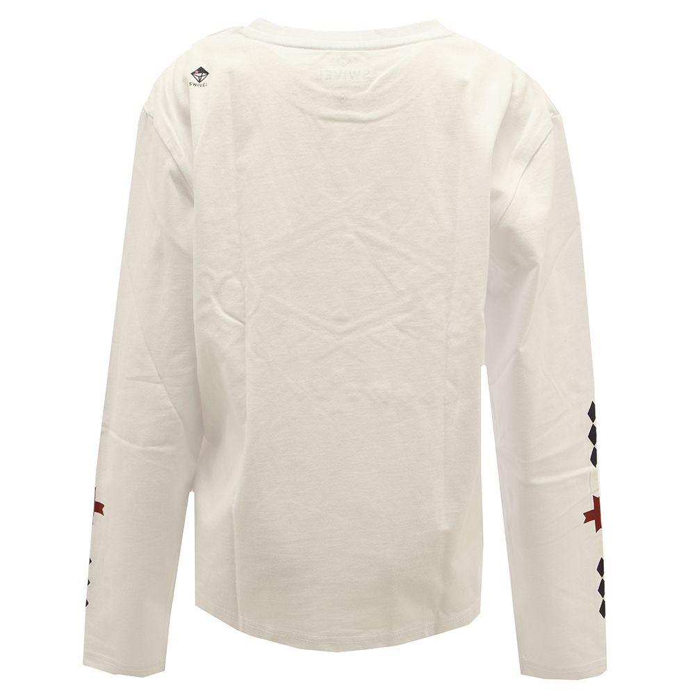 EMBROIDERY LS TEE